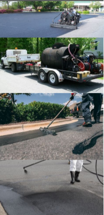 Asphalt Striping & Sealing 3